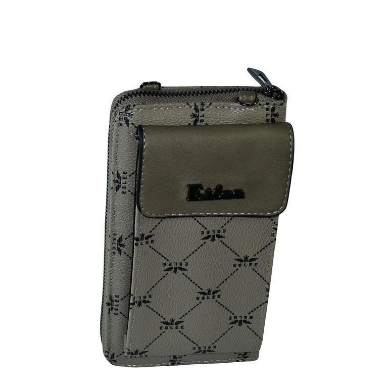 Dámska hnedá peňaženka DELER 85e82cae476