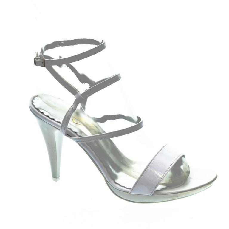 4dd900bbd449 Dámske biele sandále LIANS