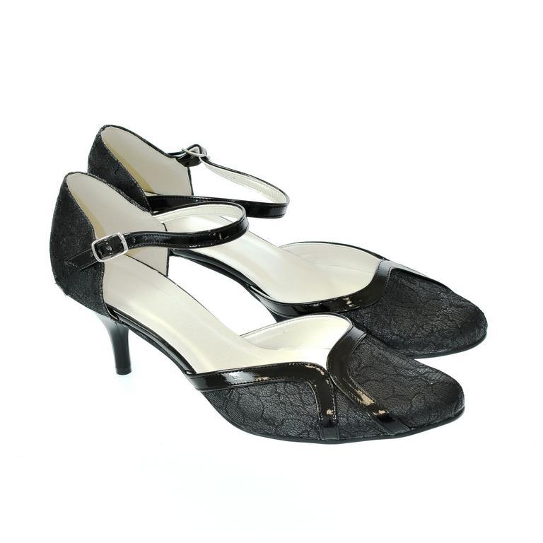 a2cd210efd7c Dámske čierne sandále Peblinii