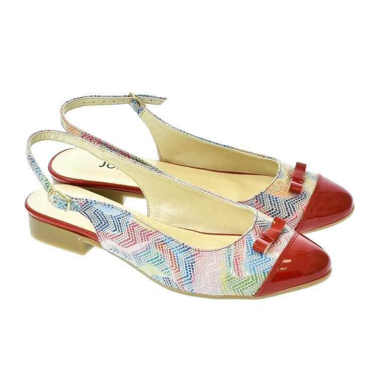 df903c382561 Dámske červené sandále Eveline 2