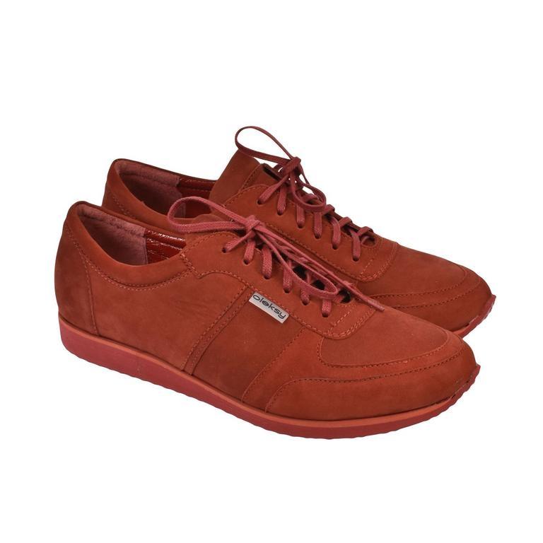 Pánske kožené červené tenisky BEN ebb88052f6a