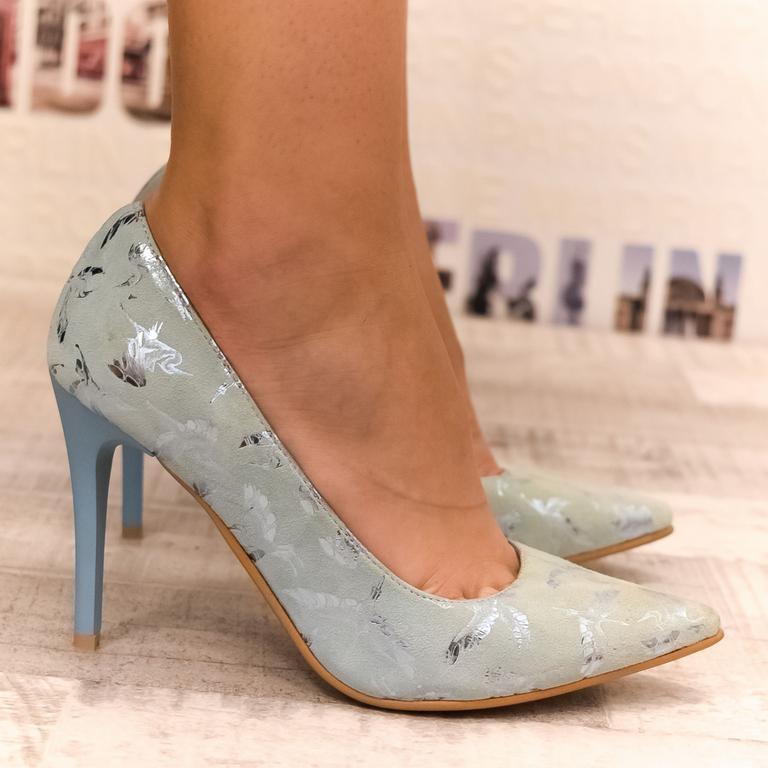 f46a6f61e7ec Dámske modré lodičky GARA