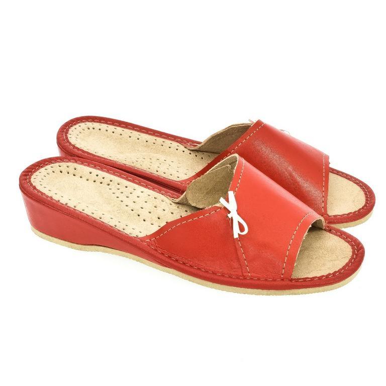 030cff631fdb Dámske červené papuče ZITA
