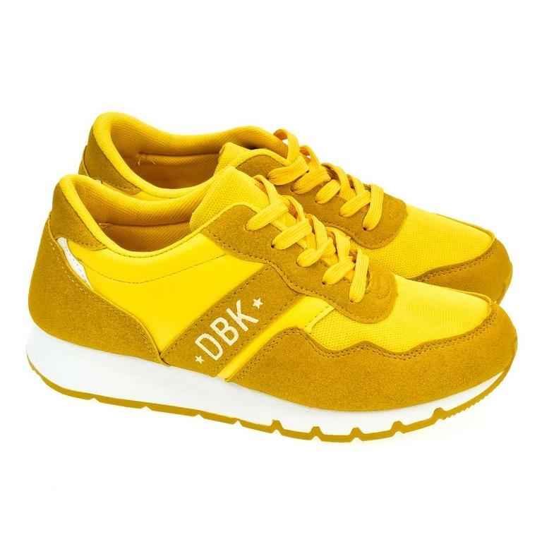 bea6f8d9b6 Dámske žlté tenisky MARI