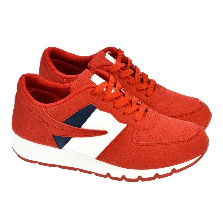 Dámske červené tenisky MARA 1edec9170e4
