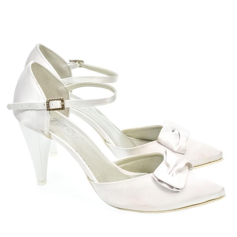 e8e4f59ca501 Dámske biele sandále NIFA
