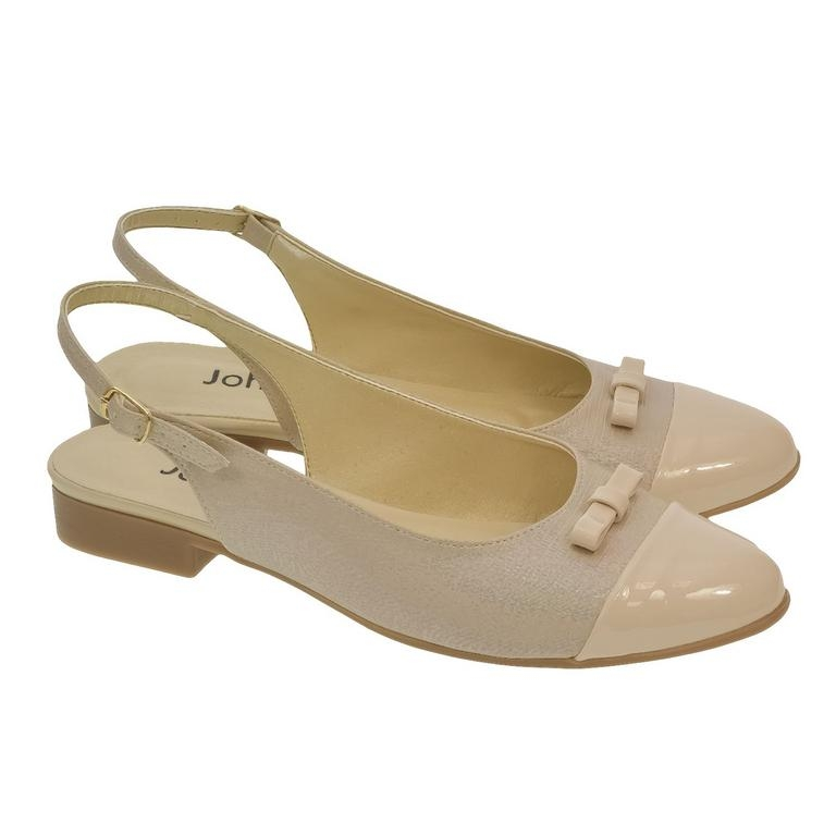 c883062b791b Dámske béžové sandále EVELINE
