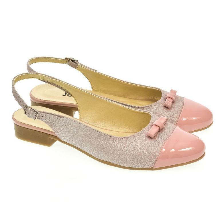 7776794c67cd Dámske ružovo-strieborné sandále EVELINE