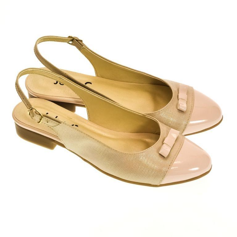 b00ed335bcb3 Dámske svetlo-ružové sandále EVELINE