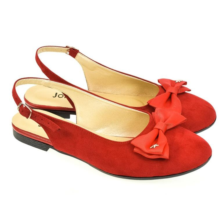 99c059e4d8ea Dámske červené sandále SIARA