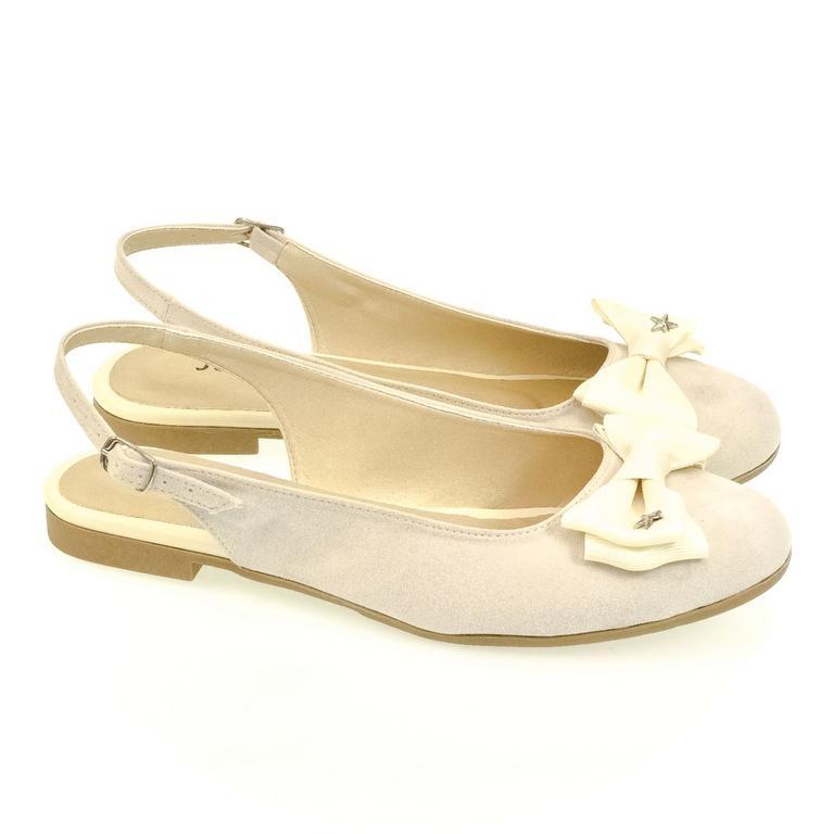 5a1d882633a1 Dámske krémové sandále SIARA