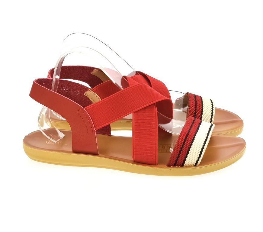 001c015b4741f Dámske červené sandále TALY | Johnc.sk