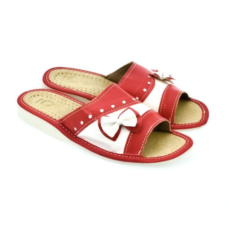 74e9f21fbbd5 Dámske kožené papuče MARIANA