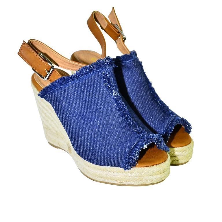 Dámske tmavomodré sandále KATHIN  22837691aa3