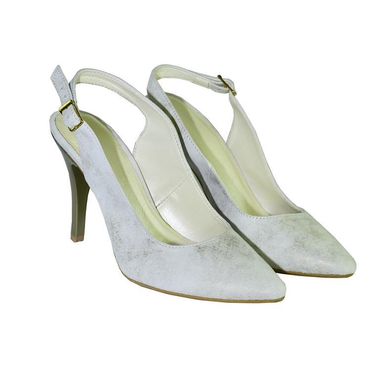 560a232cb2 Dámske zlaté sandále APERTO