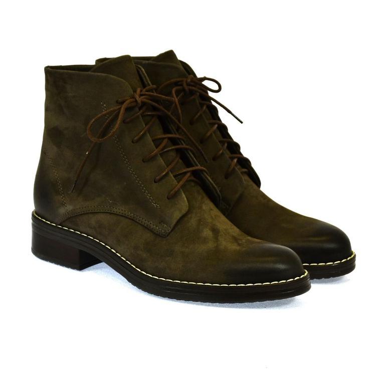 8b835cd872090 Dámske hnedé členkové topánky ILINOIS   Johnc.sk