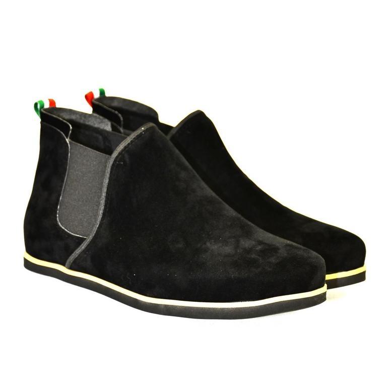 fa35113e65688 Dámske čierne členkové topánky ORIOS | Johnc.sk