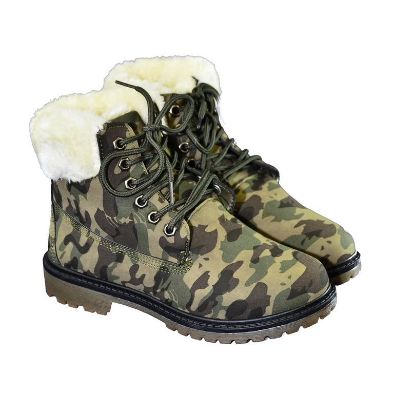 Dámske maskáčové topánky LEILA  a4510327ac6