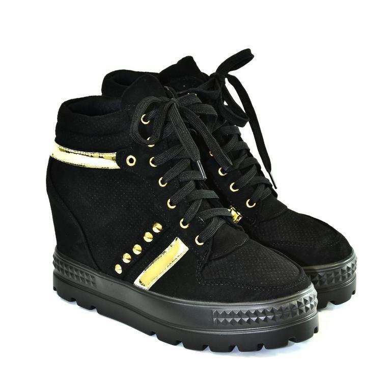 Dámske čierne topánky VIANA a37f56edacd