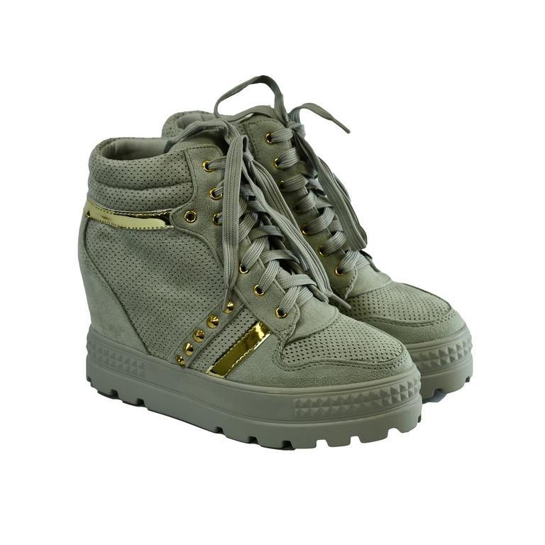 1688f00c471b Dámske sivé topánky VIANA