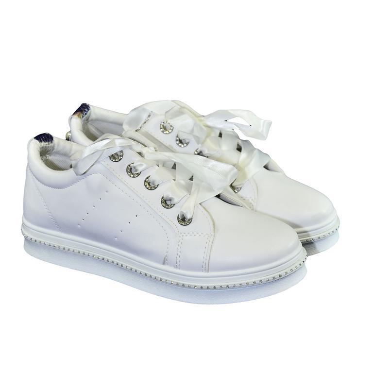 c90963529089 Dámske biele tenisky NIMERIA