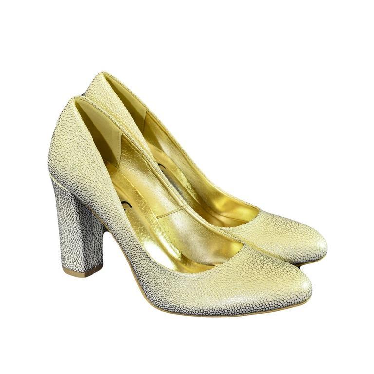 7393497043f1 Dámske zlaté lodičky MARILYN