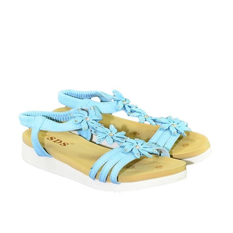 c1552dfa0c02a Dámske tyrkysové sandále TAMI