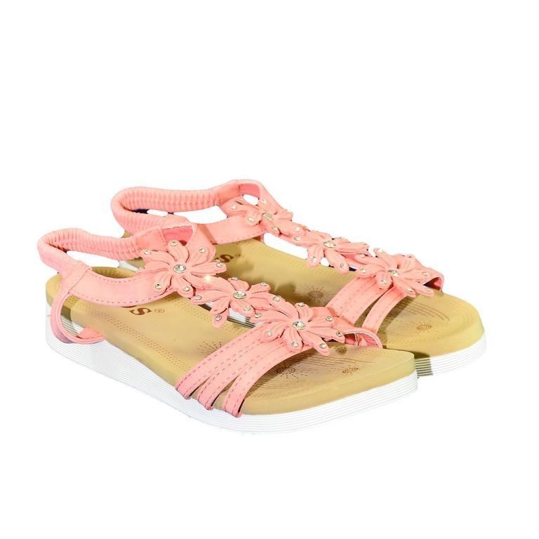 64219a852712b Dámske ružové sandále TAMI
