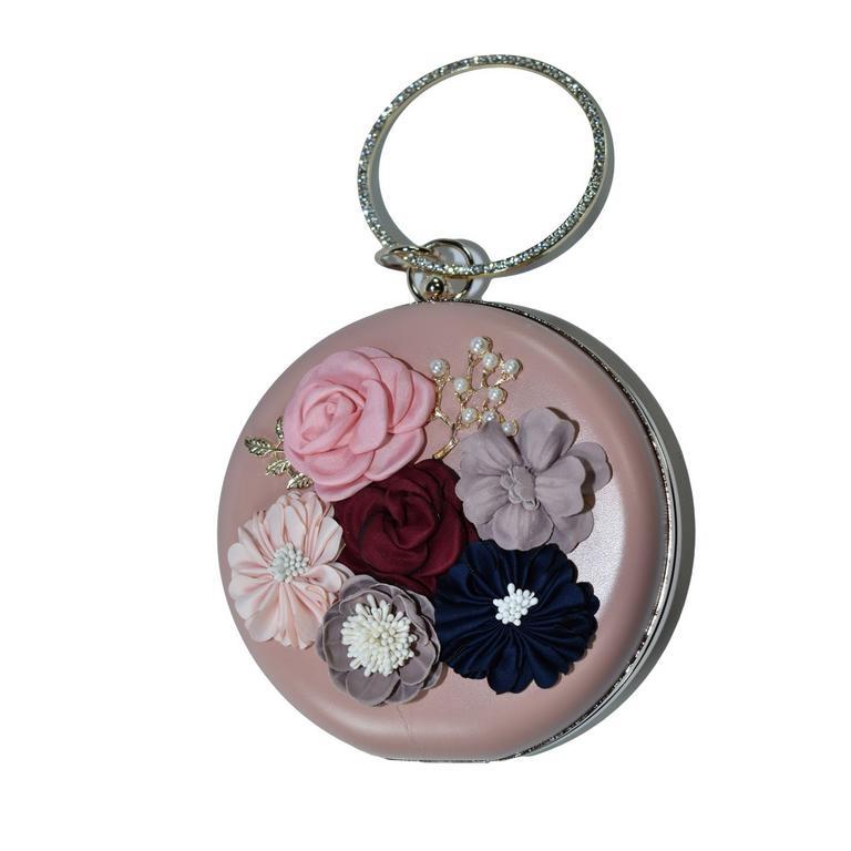 Dámska ružová kabelka FLORENCE 0c3529096b8