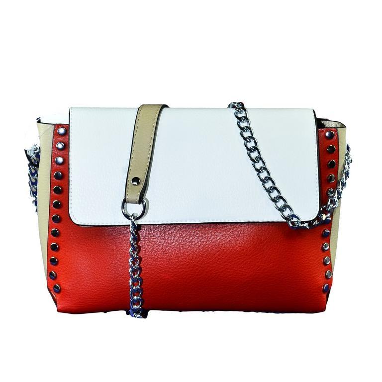 bf46dea8c6 Dámska červená kabelka LINA