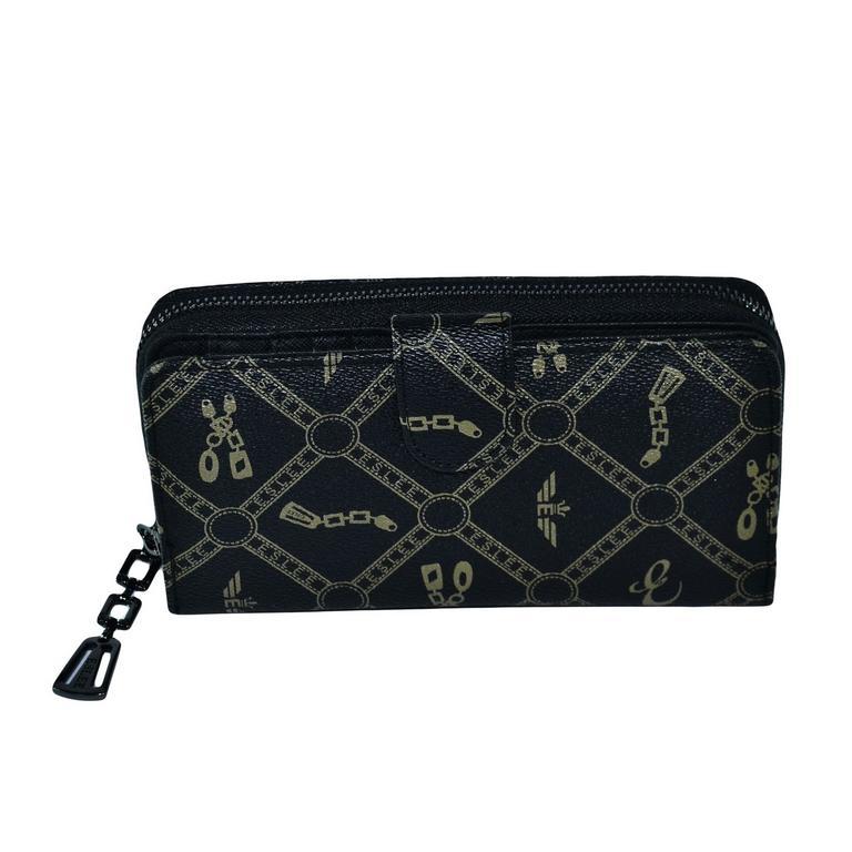 Dámska čierna peňaženka ZISSI 50d4b190654