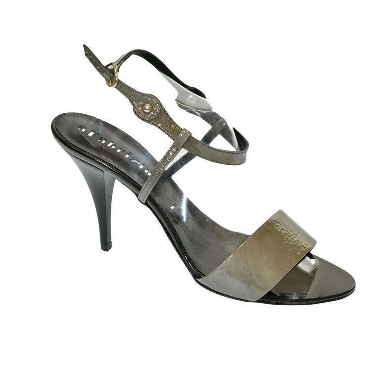 028dc1ba405d Dámske sivé sandále THALIA