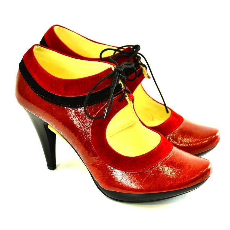 1817ec127c36 Dámske červené topánky ALLAS