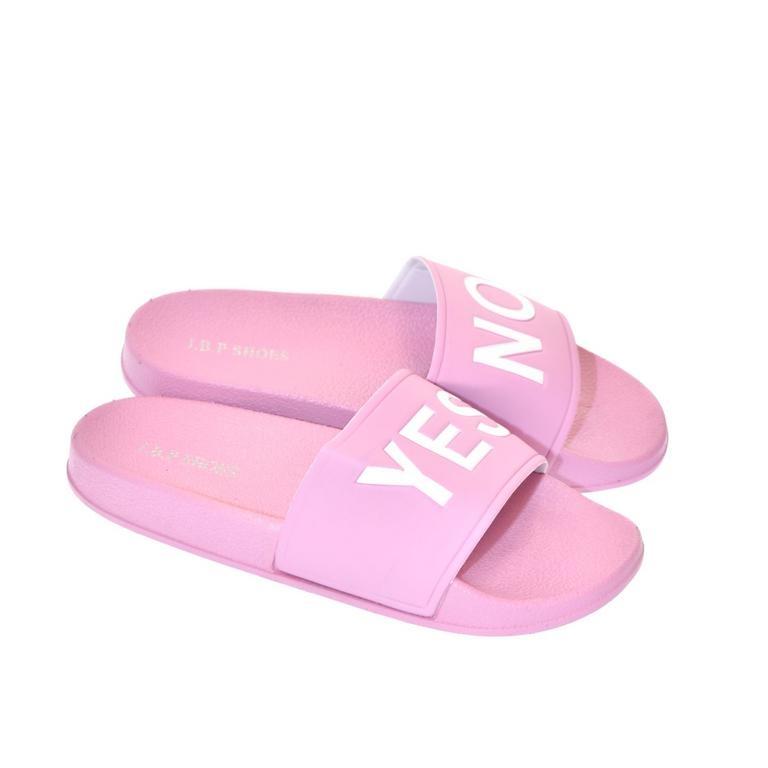 9df1286858 Dámske ružové šľapky YES-NO