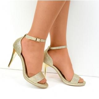 9299dcc8b6e2 Dámske zlaté sandále KAJA
