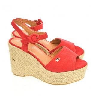 Dámske červené sandále AFRA 54818878da5