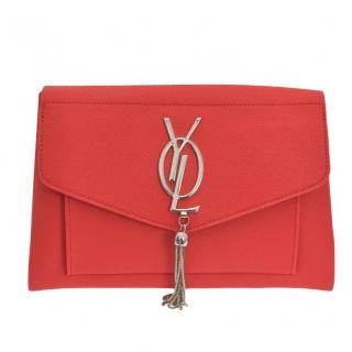 33017ec41f Dámska červená kabelka YOLIA