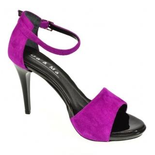 3f0798b0ff60 Dámske cyklamenové sandále MIRELLI
