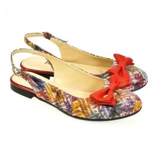 166c32ab767b Dámske farebné sandále SIARA