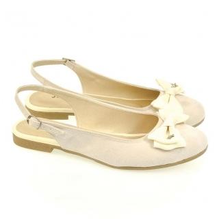 c81bb9009e6c Dámske krémové sandále SIARA