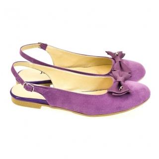 3514225f76e5 Dámske fialové sandále SIARA