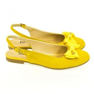 dea579d99061 Dámske žlté sandále SIARA