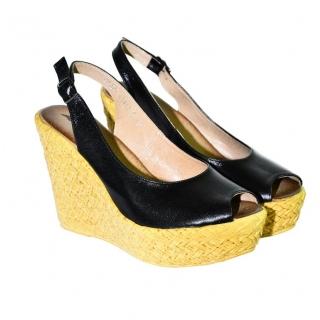 f83260e7641d Dámske čierne letné sandále JENSE