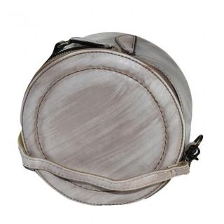 Hnedá okrúhla kabelka AUSSE c91b4319291