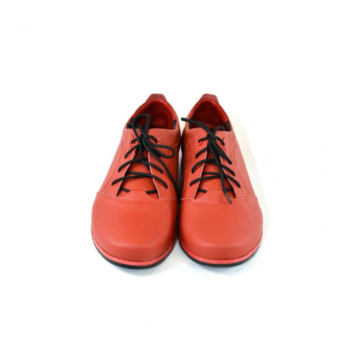c56500c97c2b9 Pánske kožené červené topánky KEIT - 5