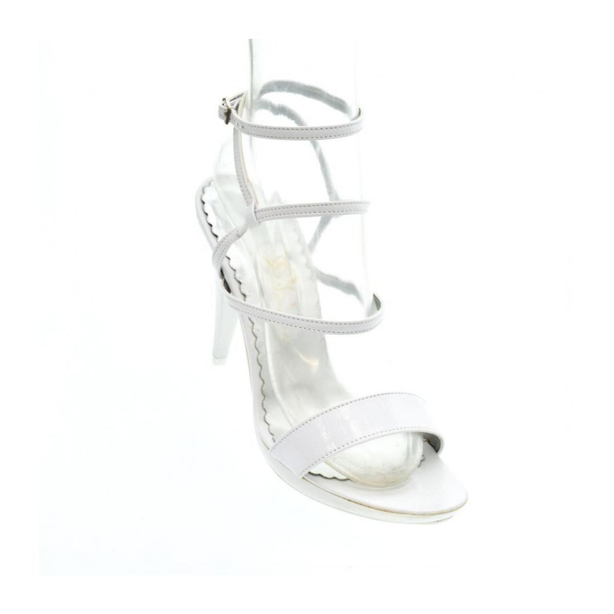 e4312baa7923 Dámske biele sandále LIANS - 4