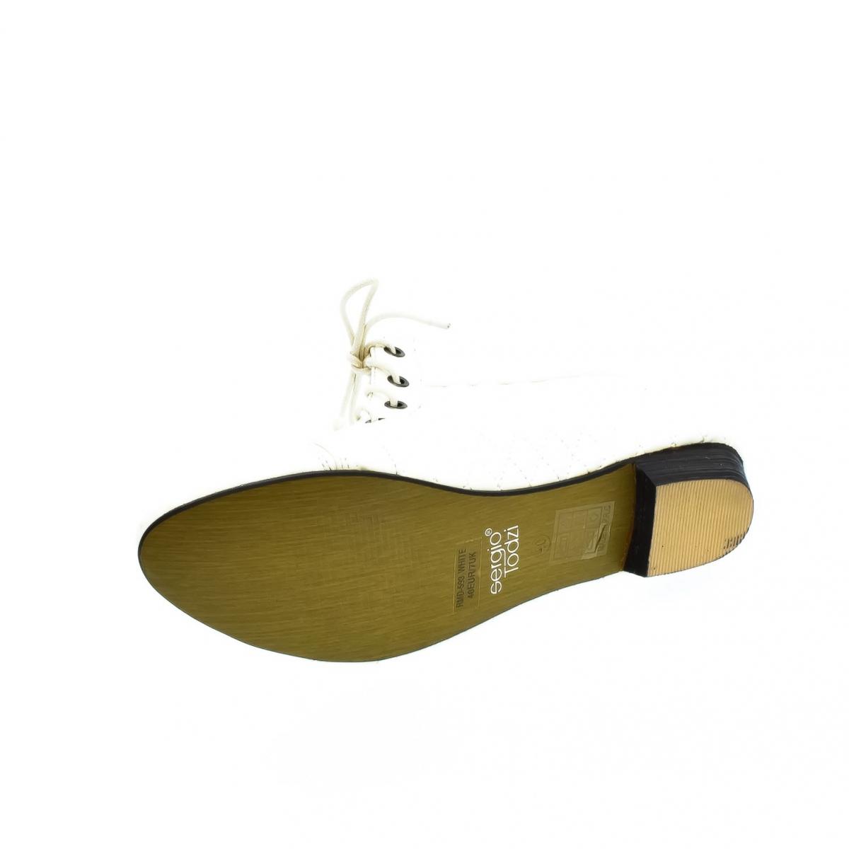 Dámske biele členkové topánky KORNELIA - 6 e37e3509e76