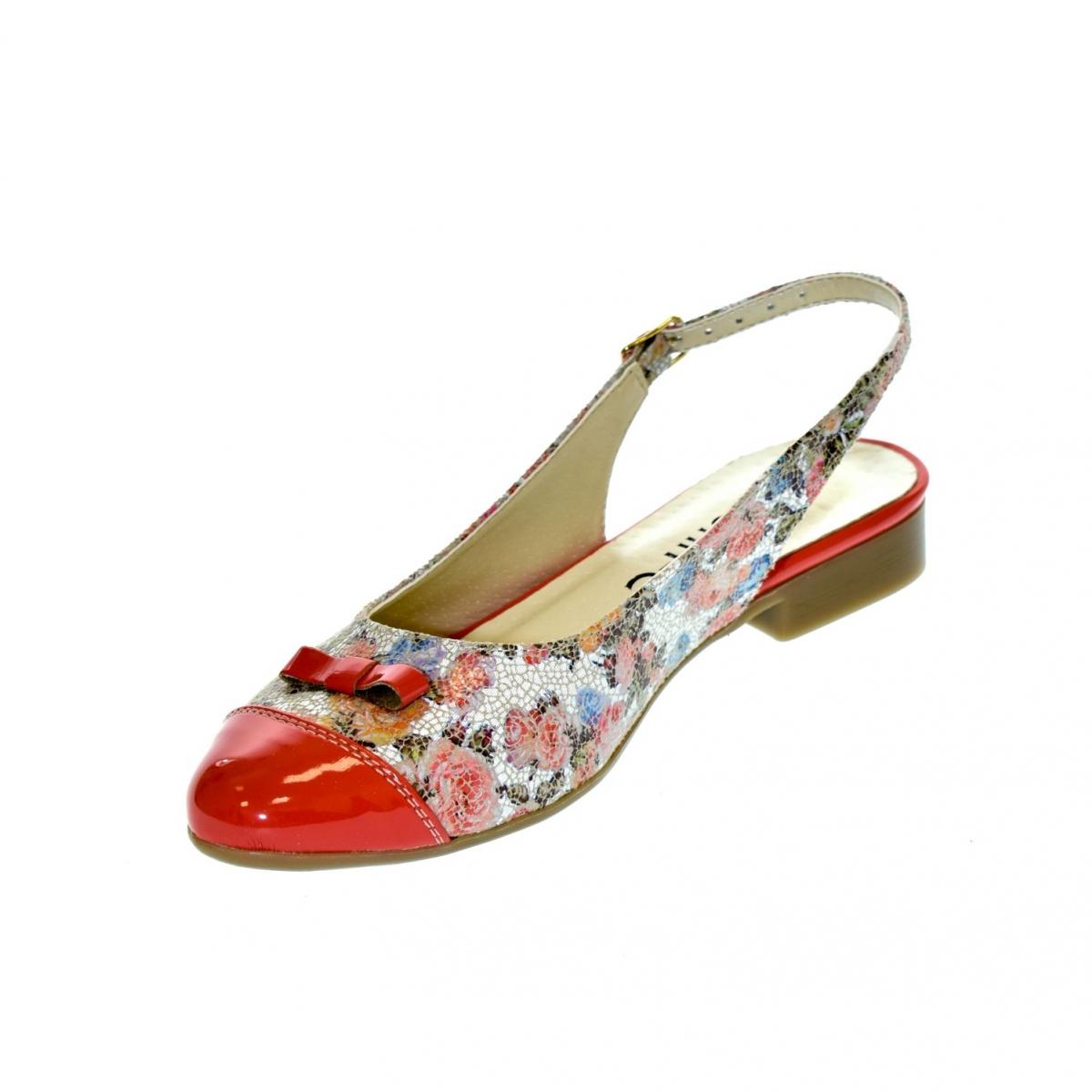 c83568836fa1 Dámske korálové sandále EVELINE - 4