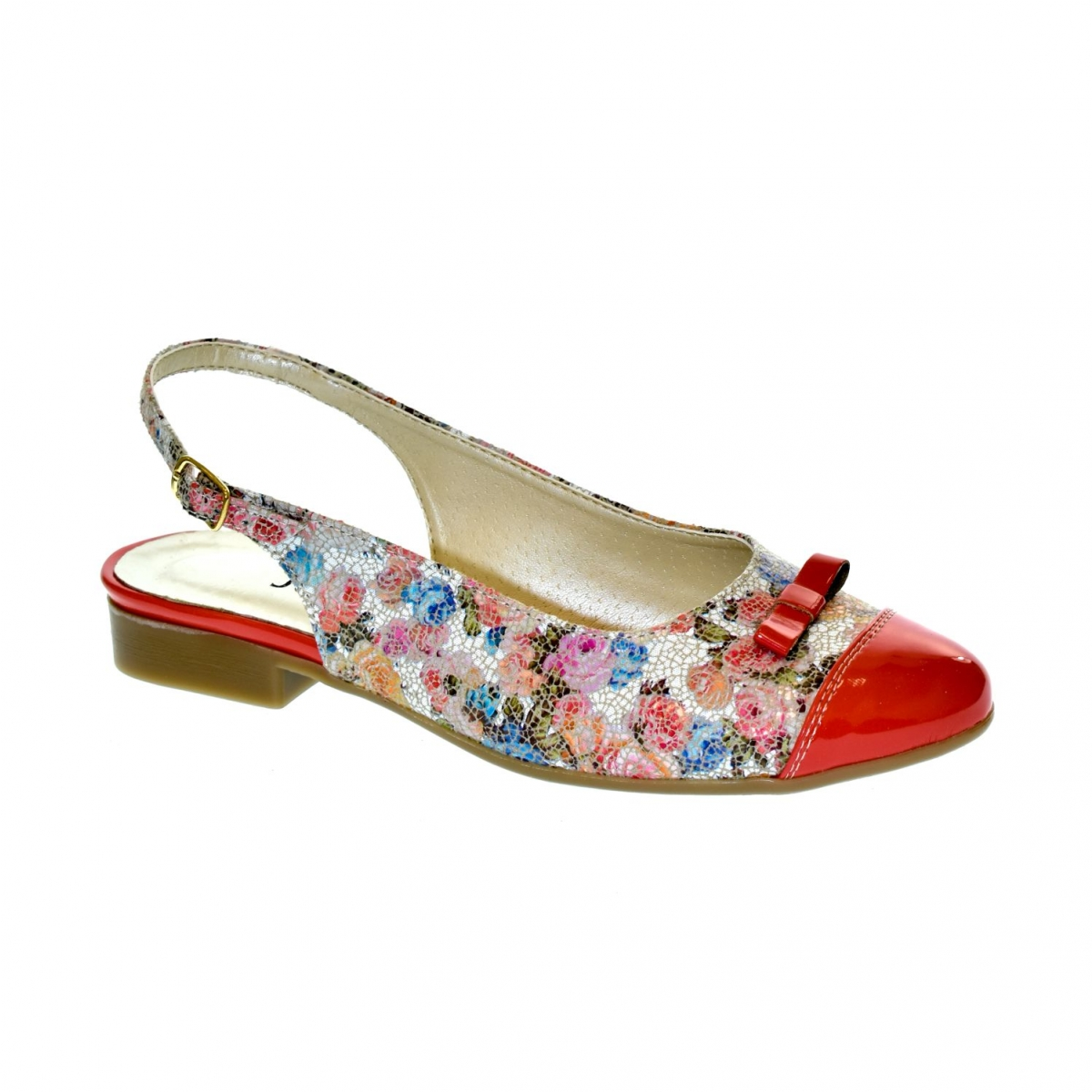c94a008c288a Dámske korálové sandále EVELINE - 2