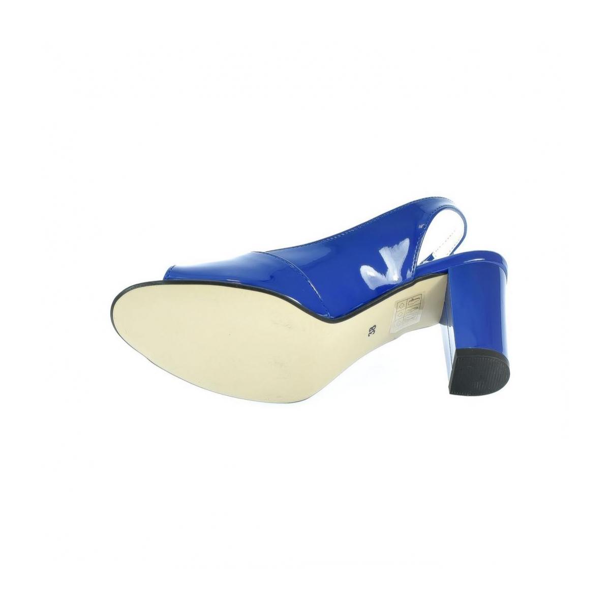 848315ba5bdd Dámske modré sandále SAINA - 6
